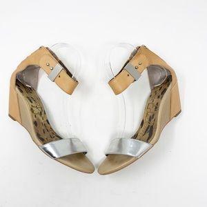 Sam Edelman Shoes - Sam Edelman | Sophie Low Wedge Sandals size 7.5M